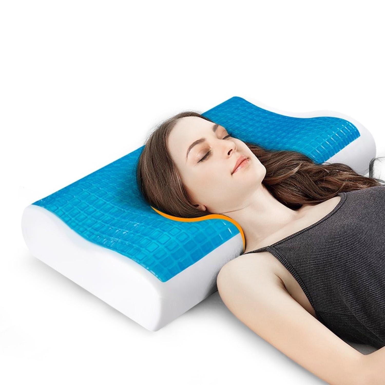 Pillowpow New Design Memory Foam Gel Pillow Sleep Lovely